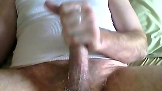 Solo Jerkoff With Big Cumshot