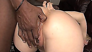Interracial Anal  Nina Hartley