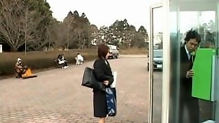 Japanese Flasher Gets Some Hard Core Sex Part6