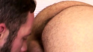 Assfucking Beared Bear With Veiny Cock