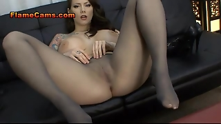 Big Tits Pantyhose Foot Fetish