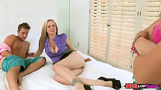 Piercings And Julia Ann Have A Great Time Licking Each Others Wet Hole