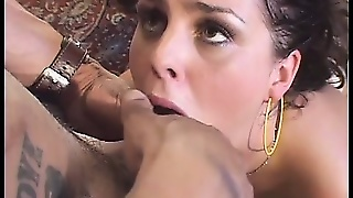 Isabel Ice Gulps Down Some Cum After Having Her Pussy Dicked