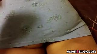 Hubby Tuchs Big Asian Ass