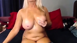 Mature Grandma Nasty Webcam Show 4