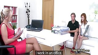 Couple Got Threesome By Fake Female Agent Getting There Young Body To New Level Of Orgasms
