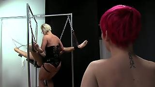 Mistress Crucifixion Foot Fetish Worship Cuckold Spanking