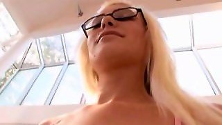 Big Dick, Blonde, Lingerie, Doggy Style, Bbc, Big Cock, Nerd, Interracial, Bbclover, Young, Glasses