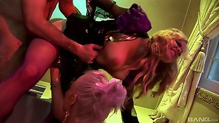 Cowgirl Stockings, Big Tits H, Blondes Ffm, Fucked Tits, Stockings In Pussy, Orgasm By Licking, Blondes Stockings, Stockings Blow Job, Pierced Pussy Blonde, Hd Blow Job