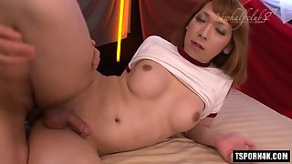 Asian Ladyboy Hardcore And Cumshot