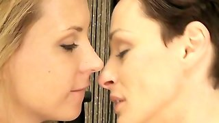 Mom Lesbian Milf With Big Tits Kisses And Orgasms