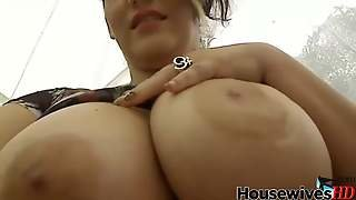 Cuban Girl With A Really Big Tits Play With Her Tasty Pussy