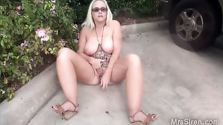 Close Up, Finger In Pussy, Big Natural Tits, Couple, Masturbation, Sexy Mom, Voyeur, Mrs Siren, Toys, Self Fuck, Doggystyle
