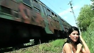At The Railway Track