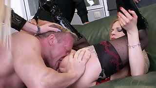 German Used Whore Is Actually Ready To Be Brutally Fucked By Studs