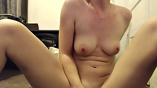 Drunk Skype With Cute Blonde