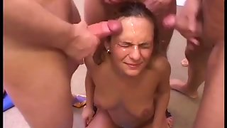 German Teen Groupsex Orgy
