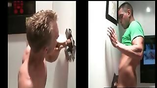Gay Eating Straight Pecker On Gloryhole