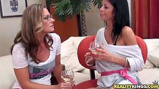 Brianna Ray, A Hot Blonde Milf With Perfect Body, Strips