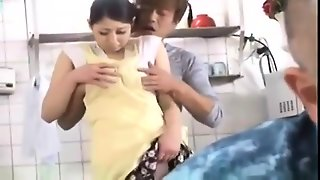 Amateur Asian Gives A Blowjob