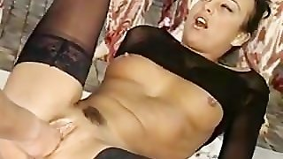 Lisa Gaston - German Mature Fucked By Two Workers