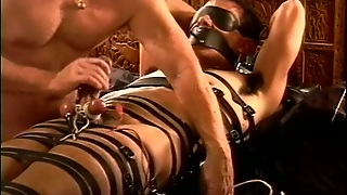 Cbt Electro Session Dude Restrained