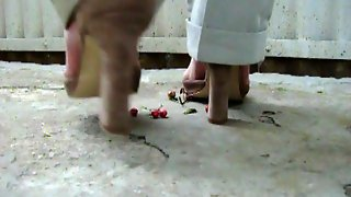 Walkover With High Heels