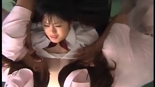 Defloration Of Asian Girl By Strap-On