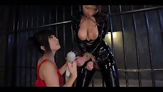 Lesbian, Japanese, Latex, Asian