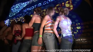 Up The Skirt Club Footage