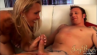 Eating Out A Hot Milf That Rides His Big Boner
