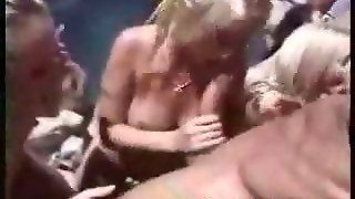 Outdoor Blowjob Orgy