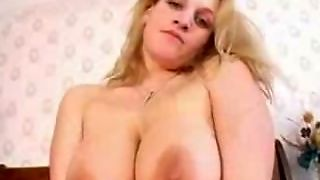 Big Brested Jana Toying Her Pink Pussy