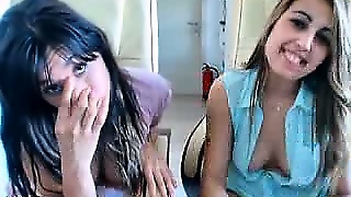 Sexy Lesbian Teens On Webcam