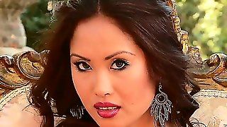 Danika Is One Hot Asian Babe Who Loves To Masturbate On Camera, But Before Playing With Her Pussy, She Makes A Hot Striptease For All Of Her Internet Boys. She Loves To Tease Them.
