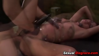 Bdsm Whore Gets Toyed