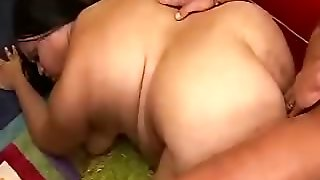 Fat Bbw Getting Pussy Plowed By This Lucky Guy