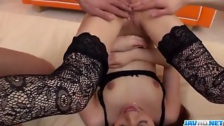 Mao Miyabi, Nude Babe, Moans And Sucks Cock In Special Ways