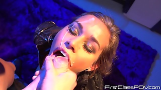 Kennedy Leigh Loves To Swallow
