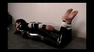 Catsuit Hogtied