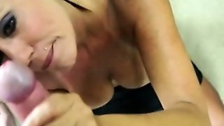 Cougar Mom Tugging On Hard Cock