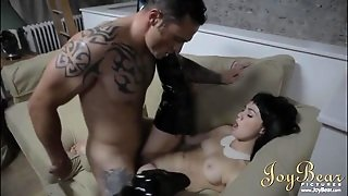 Latex Boots And Little Tits Make The Chick Fun To Fuck