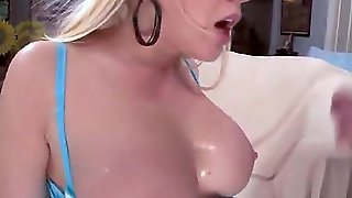 Blonde Squirts During Anal