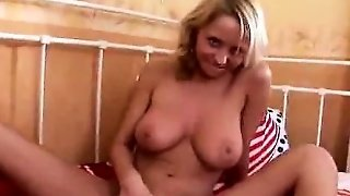 Very Sexy Blonde With Big Boobs