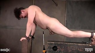 Bound And Abused Guy Suffers For His Mistress