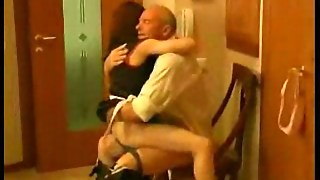 Dirty Old Man Fucking Maid