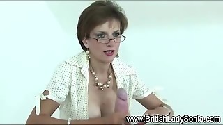 Lady Sonia Bdsm Cumshot