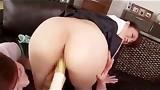 Asia Threesome Finger Hairy Pussy