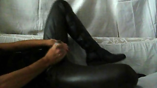 Cum On Friend Pant And Black Urban Boots