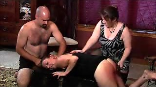 Fat, Large, Blowjob, Ladies, Spanking, Femdom, Whipping